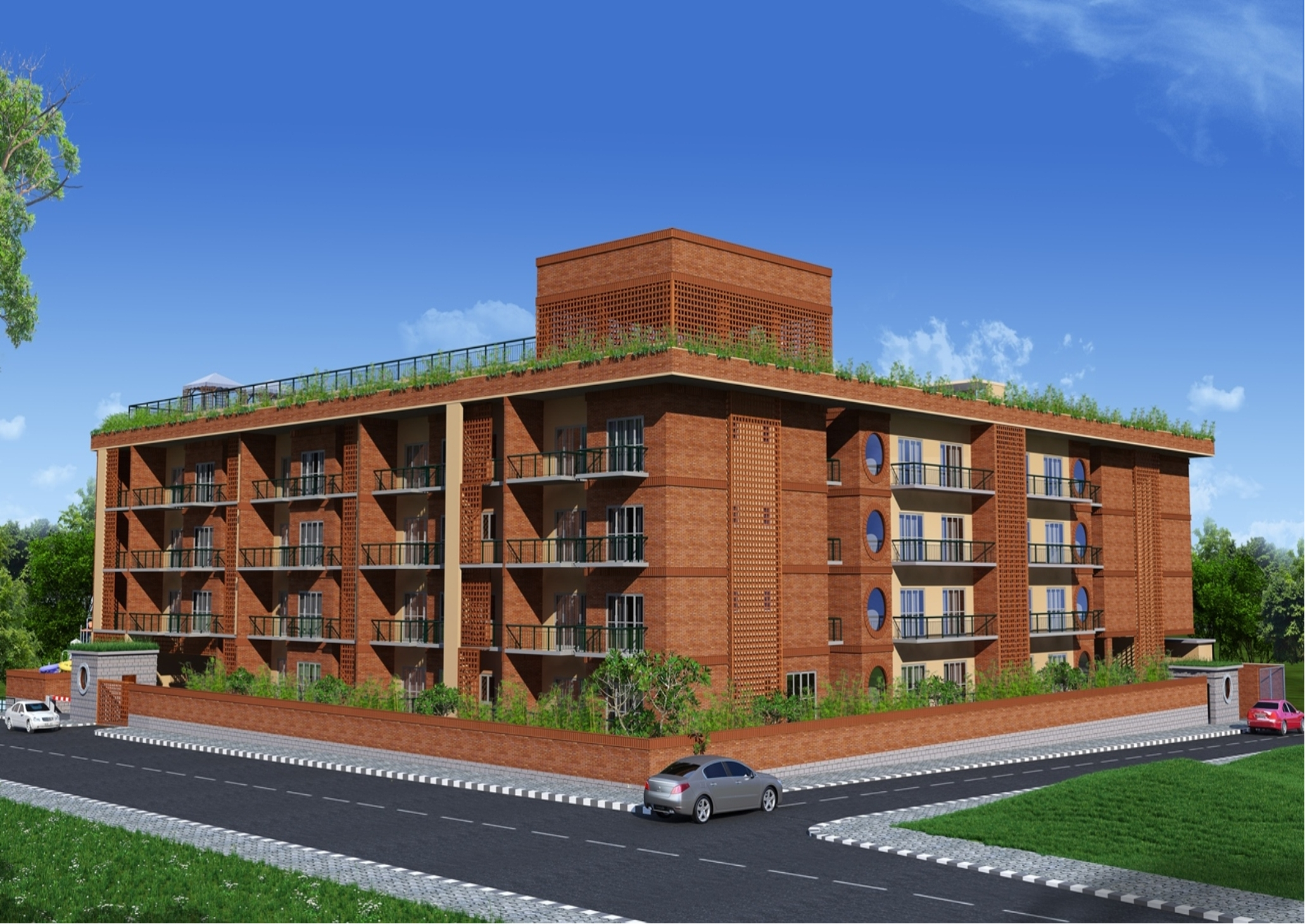 Griha Developers - Unnathi-2,3 and 4bhk apartments for ...